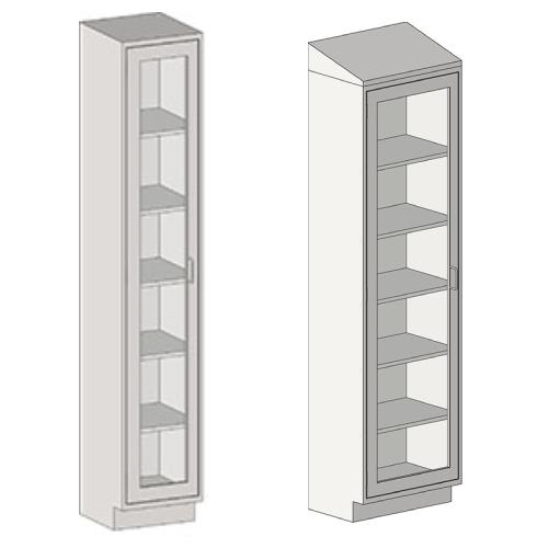 Stainless Steel Tall Cabinets